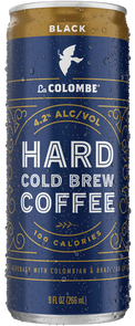 Can of Hard Cold Brew Coffee - Black.
