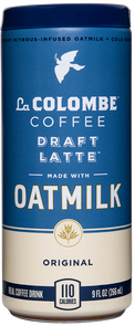 Can of Oatmilk Draft Latte.