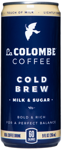 Can of Cold Brew - Milk & Sugar.
