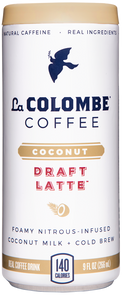 Can of Coconut Milk Draft Latte.