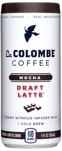 Can of Mocha Draft Latte.
