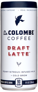 Can of Draft Latte.