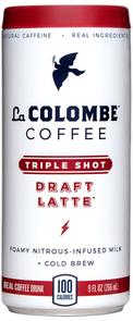 Can of Triple Draft Latte.
