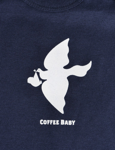 Close-up shot of the graphic on the LC Baby Onesie.