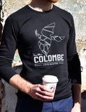 Image of someone wearing a La Colombe Dove Thermal.