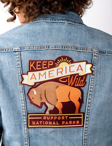 La Colombe x Levi's Keep America Wild Trucker Jacket
