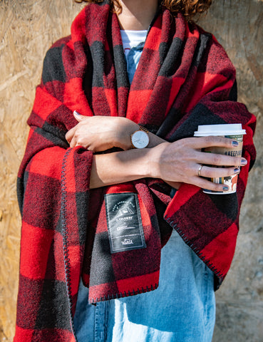 La Colombe x Woolrich Rough Rider Wool Blanket