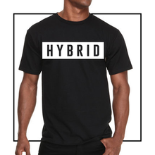 Load image into Gallery viewer, BLACK HYBRID TEE