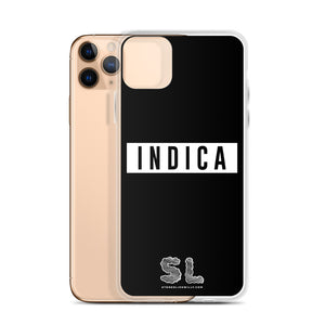 BLACK INDICA iPhone Case