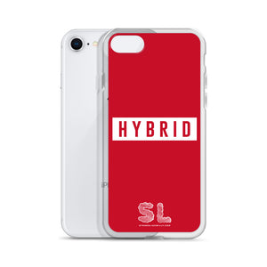 RED HYBRID iPhone Case