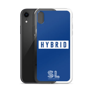 BLUE HYBRID iPhone Case