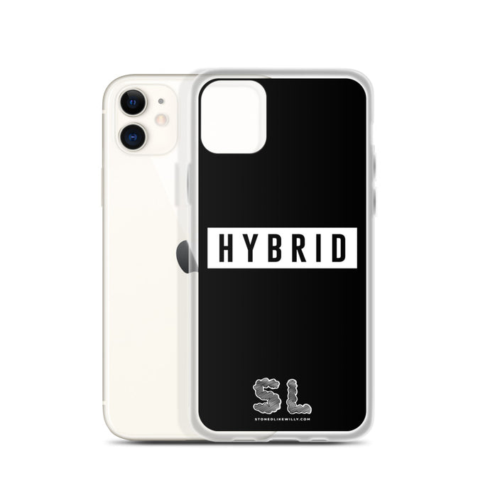 BLACK HYBRID iPhone Case