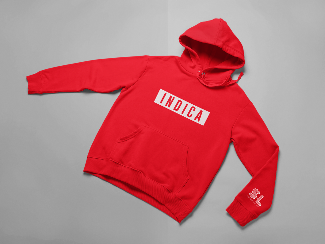 RED INDICA HOODIE