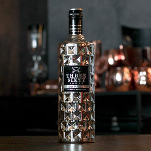 THREE SIXTY VODKA Platinum 100% Proof, 1,0l
