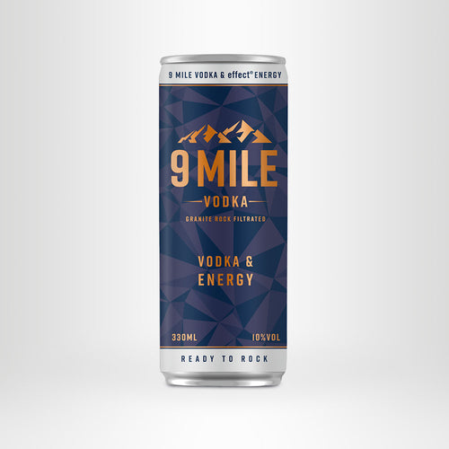 9 MILE Vodka & effect® Energy