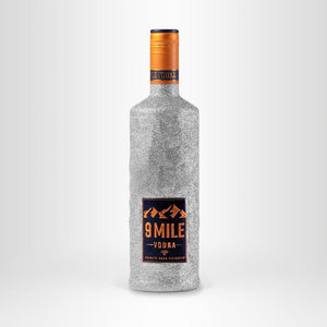9 MILE Vodka Limited Edition, 0,7l Silber