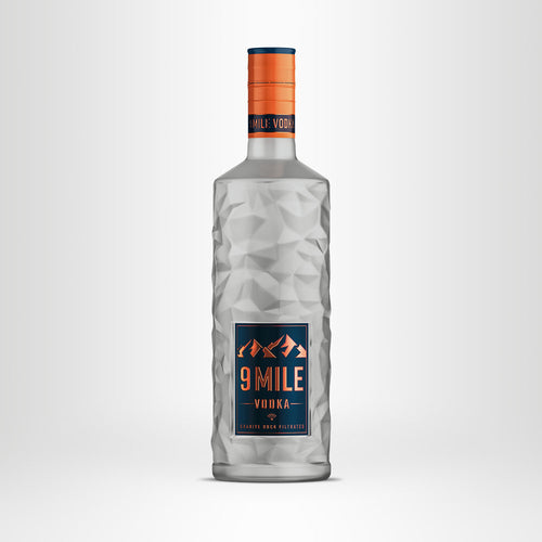 9 MILE Vodka, 0,7l