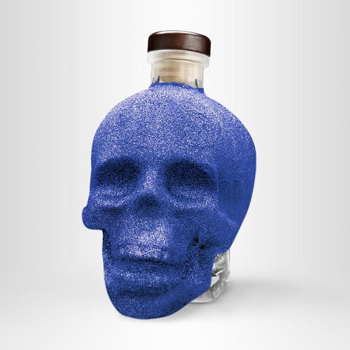 Crystal Head Vodka Bling Bling-Edition, 0,7l – Blau
