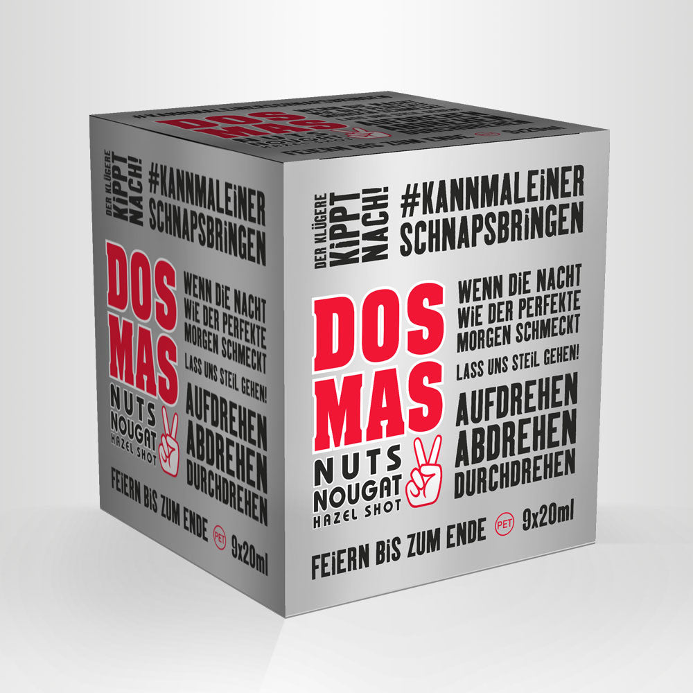 DOS MAS Hazel Shot, 9x20ml