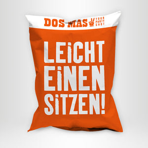 DOS MAS XXL Sitzsack Orange
