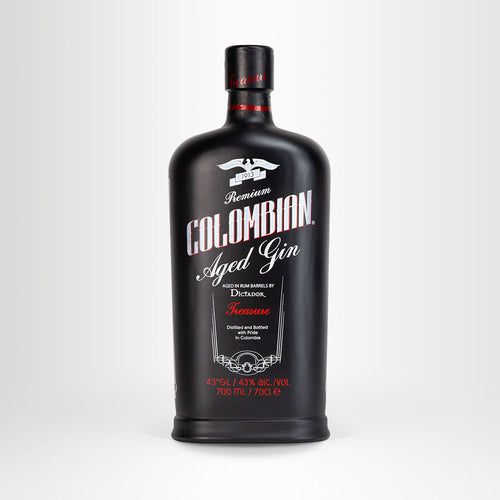 Dictador Colombian Aged Black Gin Treasure
