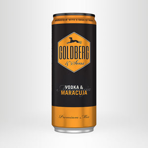 GOLDBERG Vodka & Maracuja, Premix