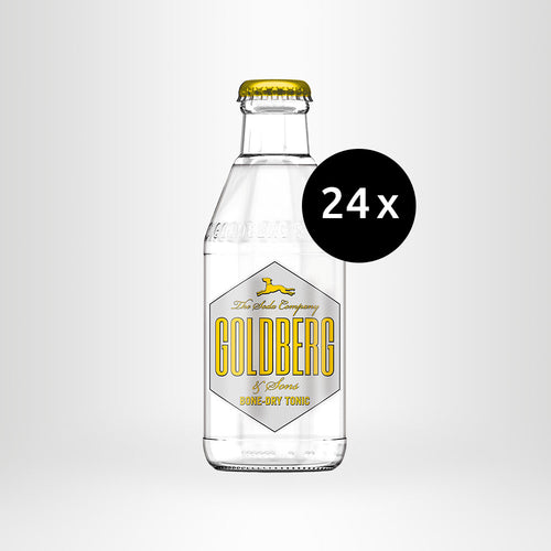 24x GOLDBERG Bone Dry Tonic, 0,2l