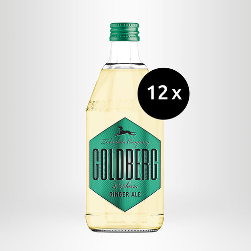 12x GOLDBERG Ginger Ale, 0,5l