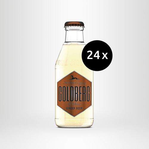 24x GOLDBERG Ginger Beer, 0,2l