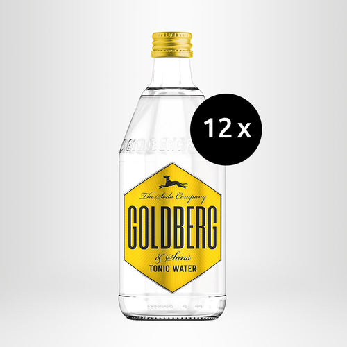 12x GOLDBERG Tonic Water, 0,5l