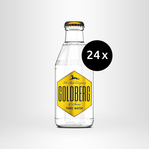 24x GOLDBERG Tonic Water, 0,2l