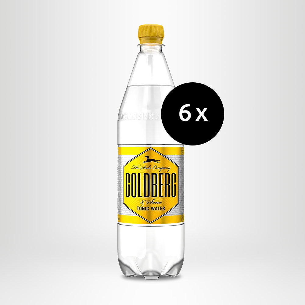 6x GOLDBERG Tonic Water, 1,0l