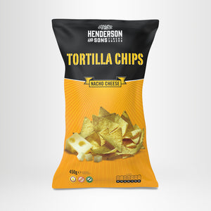 HENDERSON & SONS Tortilla Chips Nacho Cheese 450g-Beutel