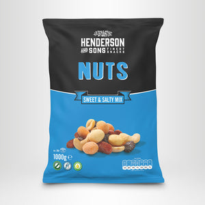 HENDERSON & SONS Sweet and Salty Nuts, 1000g