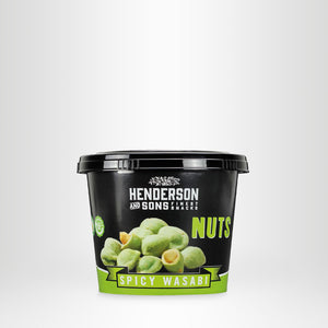 HENDERSON & SONS Spicy Wasabi Nuts, 100g