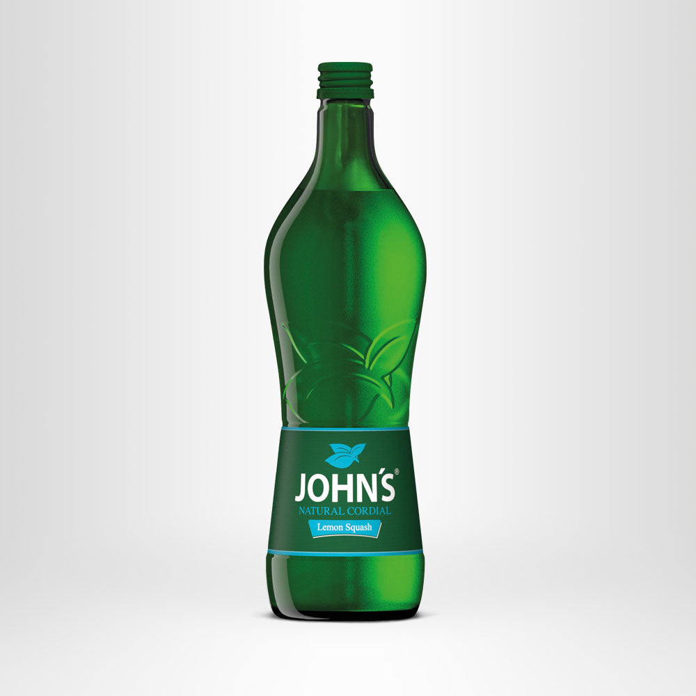 JOHN'S Lemon Natural Cordial, 0,7l