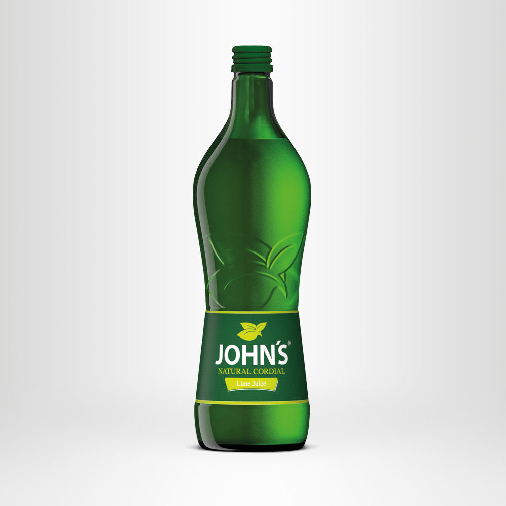 JOHN'S Lime Natural Cordial, 0,7l