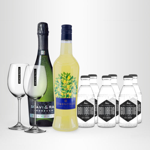 Limoncello-Spritz-Set