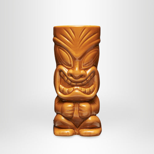 MAHIKI Tiki Mug Happy Hula Brown, 0,35l