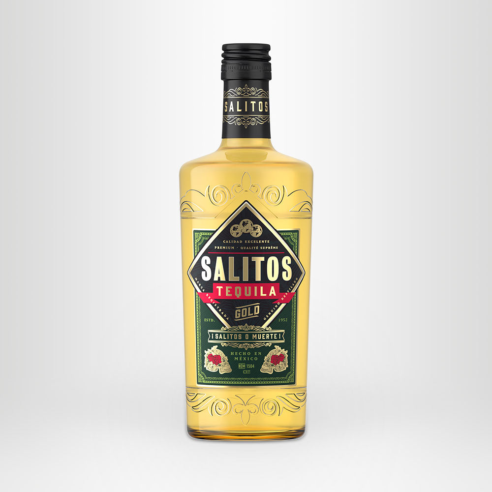SALITOS Tequila Gold, 0,7l