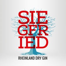 Laden Sie das Bild in den Galerie-Viewer, SIEGFRIED Rheinland Dry Gin + 6x GOLDBERG Tonic nach Wahl + 2x Highballglas