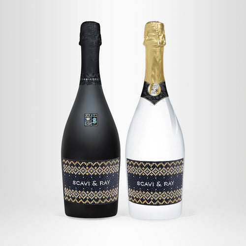 SCAVI & RAY Prosecco Set – Winter Luxury Edition, 2x 0,75l