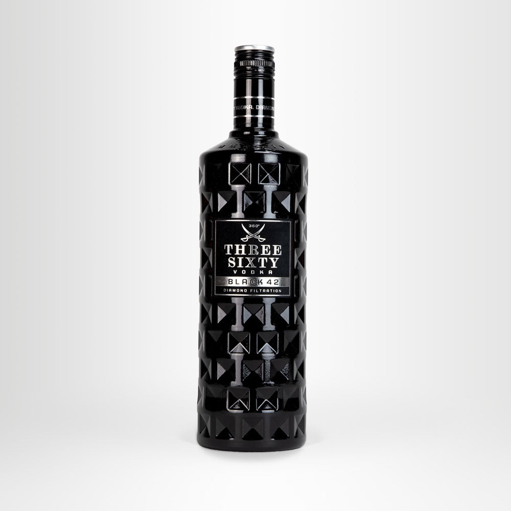 THREE SIXTY VODKA Black