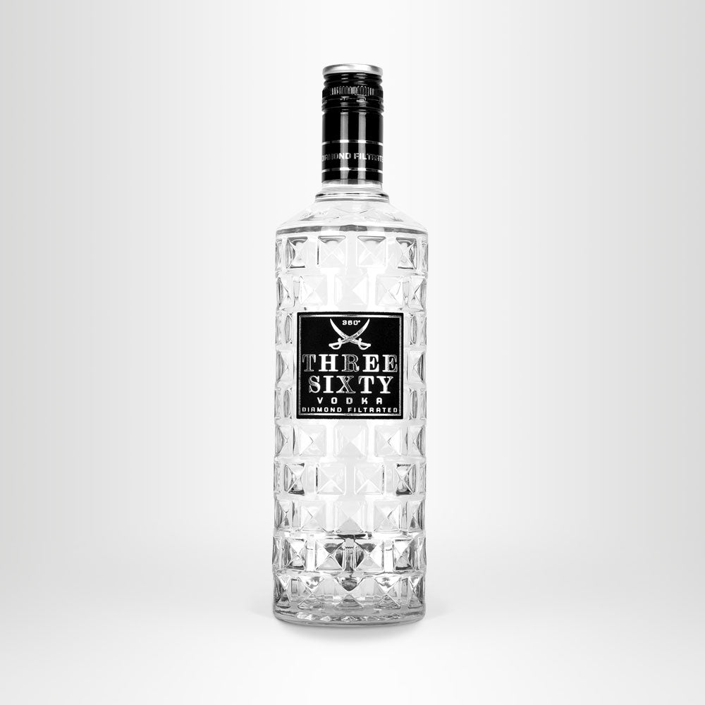 THREE SIXTY VODKA, 0,5l