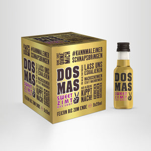 DOS MAS MEX SHOT Partywürfel (PET), 9x20ml