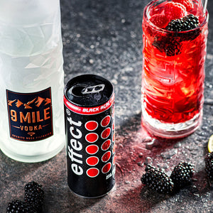 6x effect® VODKA & AÇAÍ – Ruby Rock + 2 effect® Gläser