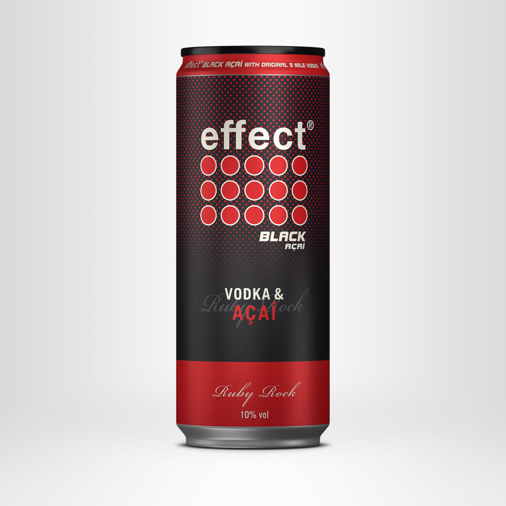 NEU: effect® VODKA & AÇAÍ – Ruby Rock