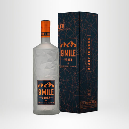 9 MILE Vodka, 3,0l