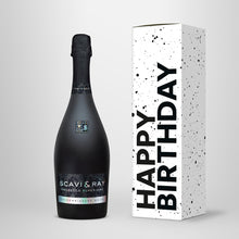 "Laden Sie das Bild in den Galerie-Viewer, Prosecco in Geschenkbox – SCAVI & RAY nach Wahl – ""Happy Birthday"""