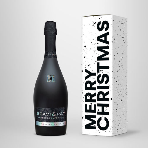 "greatr® Box ""Merry Christmas"" – Geschenkverpackung + SCAVI & RAY nach Wahl"